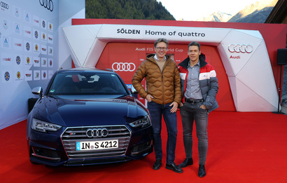 Half width christian pirzer fis and thomas glas head of sports marketing of audi ag